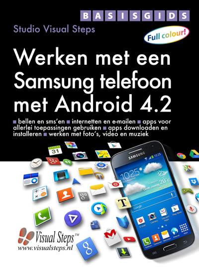 Basisgids Werken met een Samsung telefoon met Android 4.2