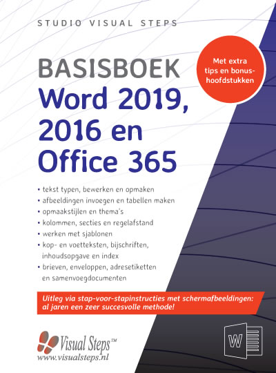 Basisboek Word 2019, 2016 en Office 365