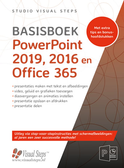 Basisboek Powerpoint 2019, 2016 en Office 365