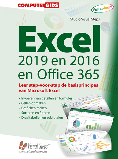 Computergids Excel 2019, 2016 en Office 365