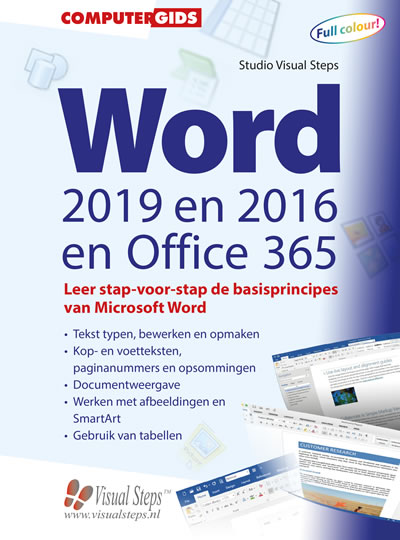 Computergids Word 2019, 2016 en Office 365