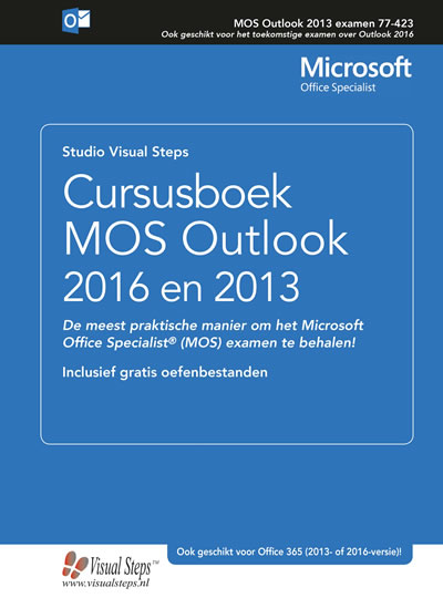 Cursusboek MOS Outlook 2016 en 2013