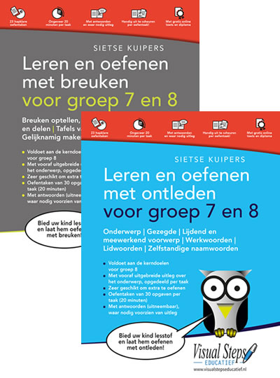 2 nieuwe titels in de De Visual Steps Educatief-reeks