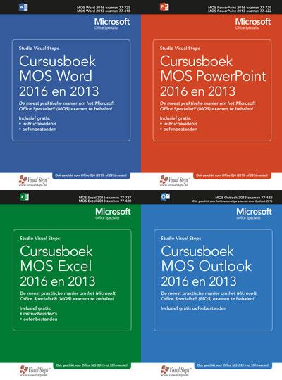 Nieuw! De Visual Steps MOS-boekenserie