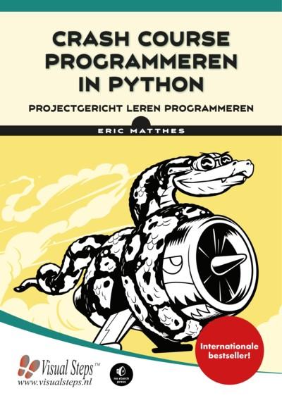 Leer programmeren met dit uitgebreide boek over Python