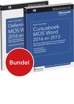 Cursusboek MOS Word 2016 en 2013 + extra oefeningen