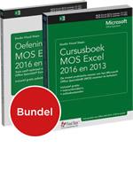 Cursusboek MOS Excel 2016 en 2013 + extra oefeningen