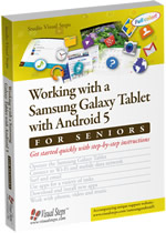 Working with a Samsung Galaxy Tablet with Android 5 for SENIORS (also suitable for Android 6)