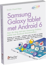 Samsung Galaxy tablet met Android 6