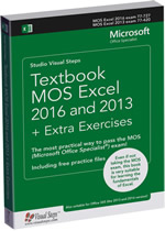 Textbook MOS Excel 2016 and 2013 + Extra Exercises