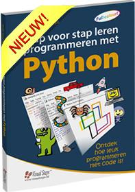 Stap voor stap leren programmeren in Python